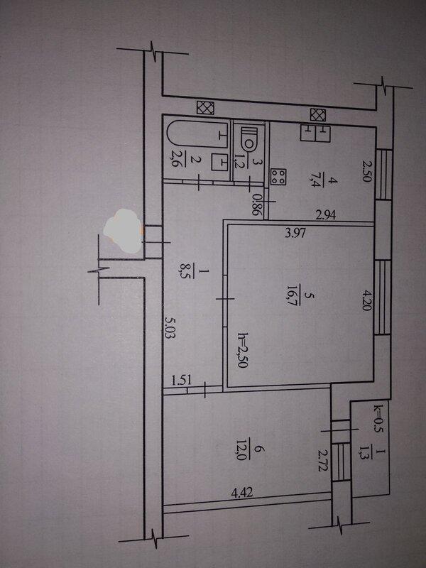 продам 2-комнатную квартиру Днепр, ул.Котляревского - Фото 10