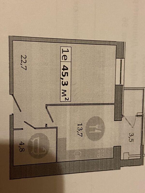 продам 1-комнатную квартиру Юбилейное, ул.Владимирская - Фото 3