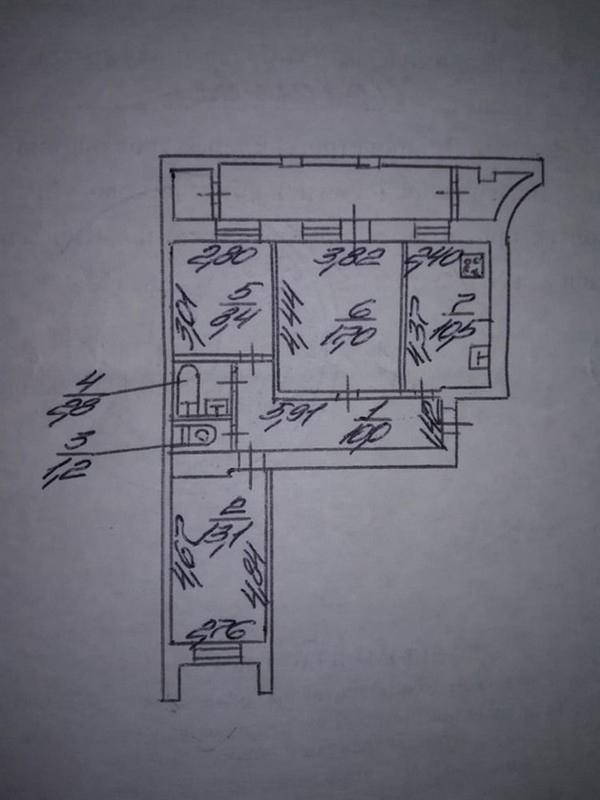 продам 3-комнатную квартиру Днепр, ул.Шолохова , 35 - Фото 9