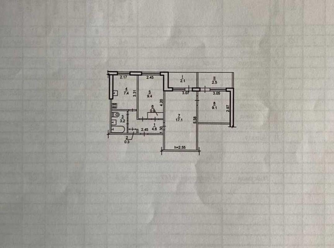продам 3-комнатную квартиру Днепр, ул.Калиновая - Фото 9