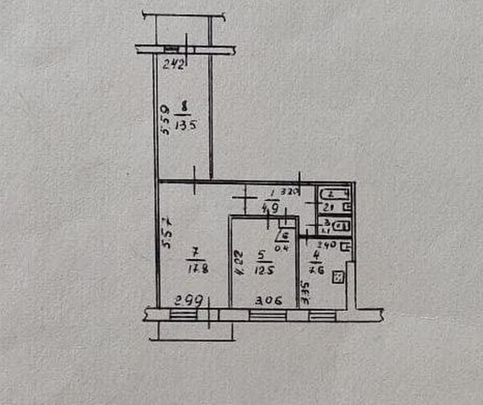 продам 3-комнатную квартиру Днепр, ул.Калиновая , 84 - Фото 11