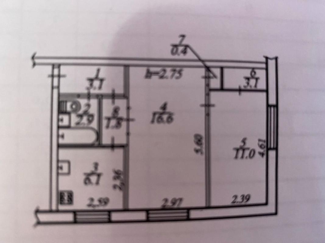 продам 2-комнатную квартиру Днепр, ул.Ковалевской С. , 11 - Фото 7