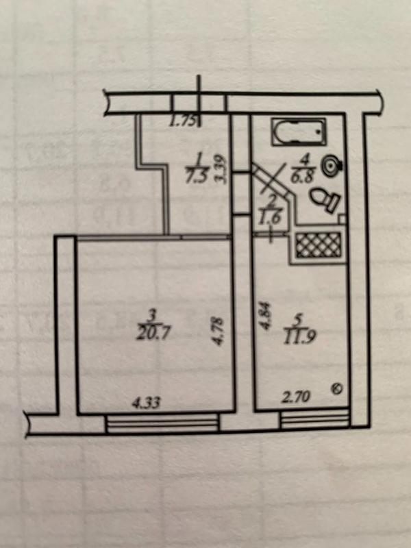 продам 1-комнатную квартиру Днепр, ул.Тверская , 2 - Фото 14