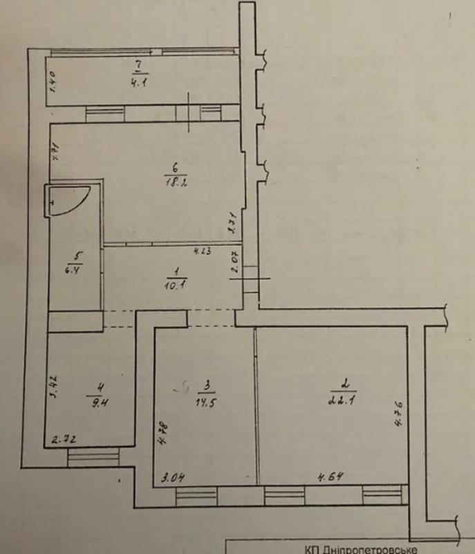 продам 3-комнатную квартиру Днепр, ул.Дарницкая , 21 - Фото 20