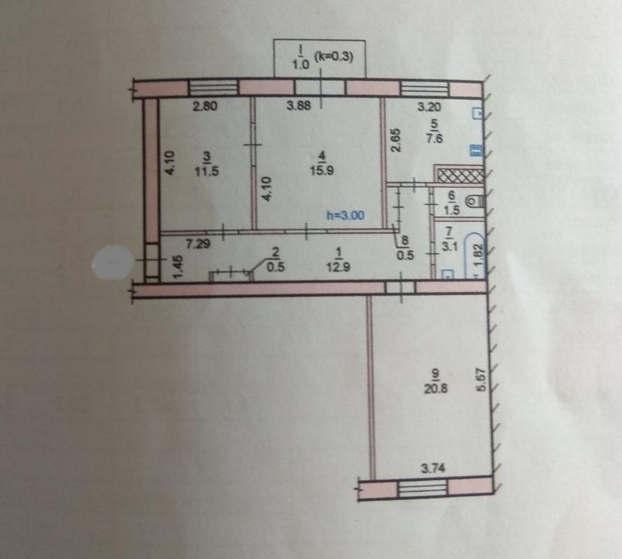 продам 3-комнатную квартиру Днепр, ул.Универсальная , 3 - Фото 11
