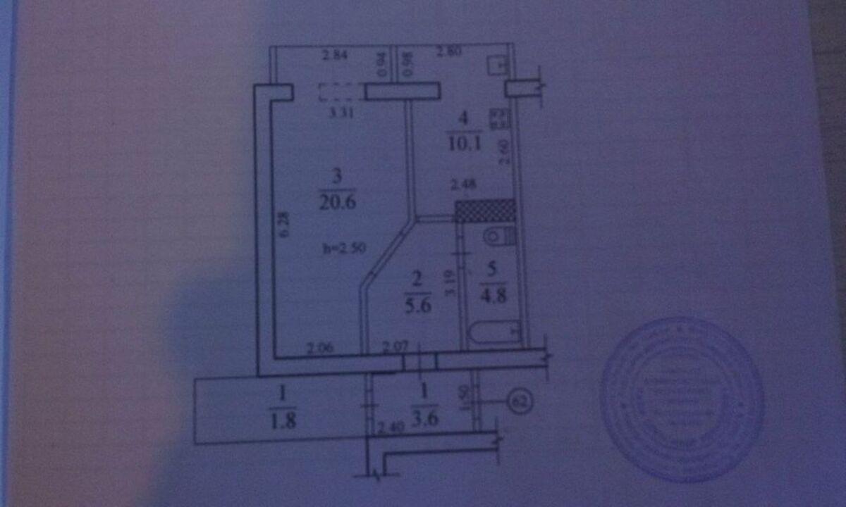 продам 1-комнатную квартиру Днепр, ул.пр .Слобожанский - Фото 9