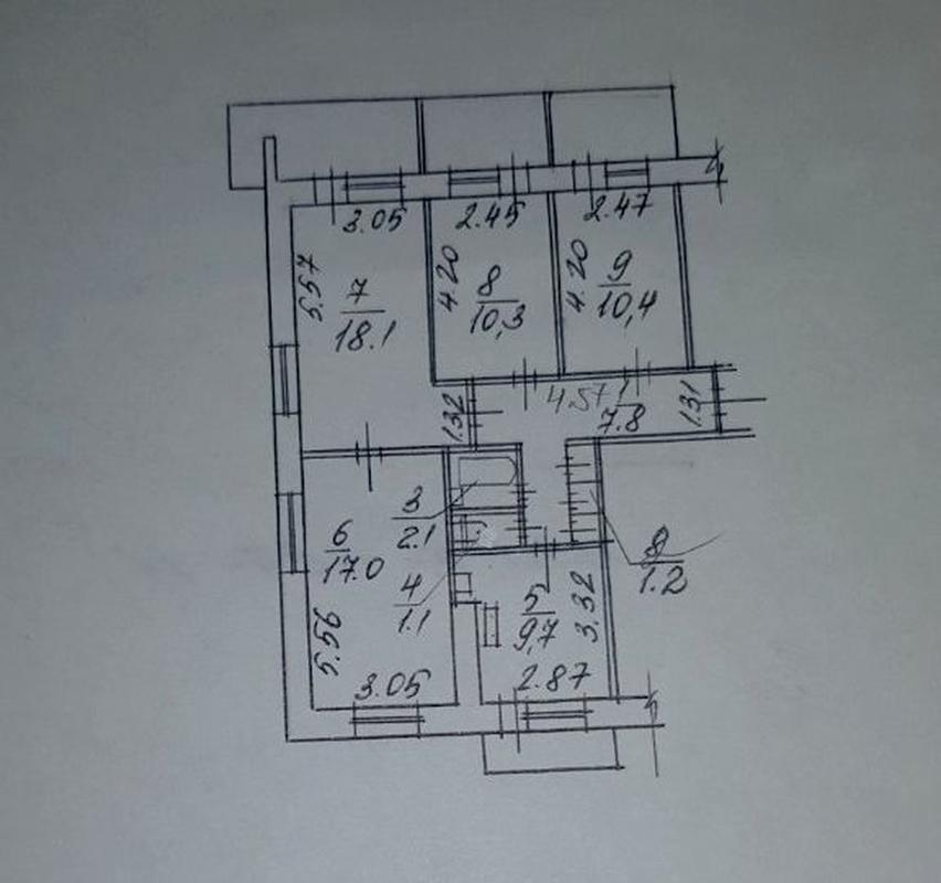 продам 4-комнатную квартиру Днепр, ул.Малиновского Маршала , 12 - Фото 8