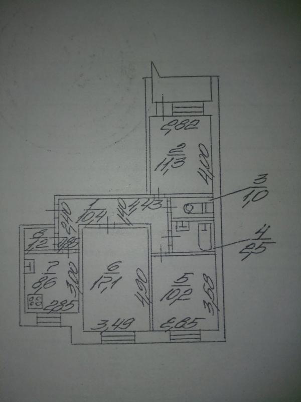 продам 3-комнатную квартиру Днепр, ул.Донецкое шоссе, 1 - Фото 6