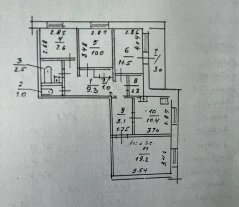продам 4-комнатную квартиру Днепр, ул.Донецкое шоссе, 1 - Фото 11