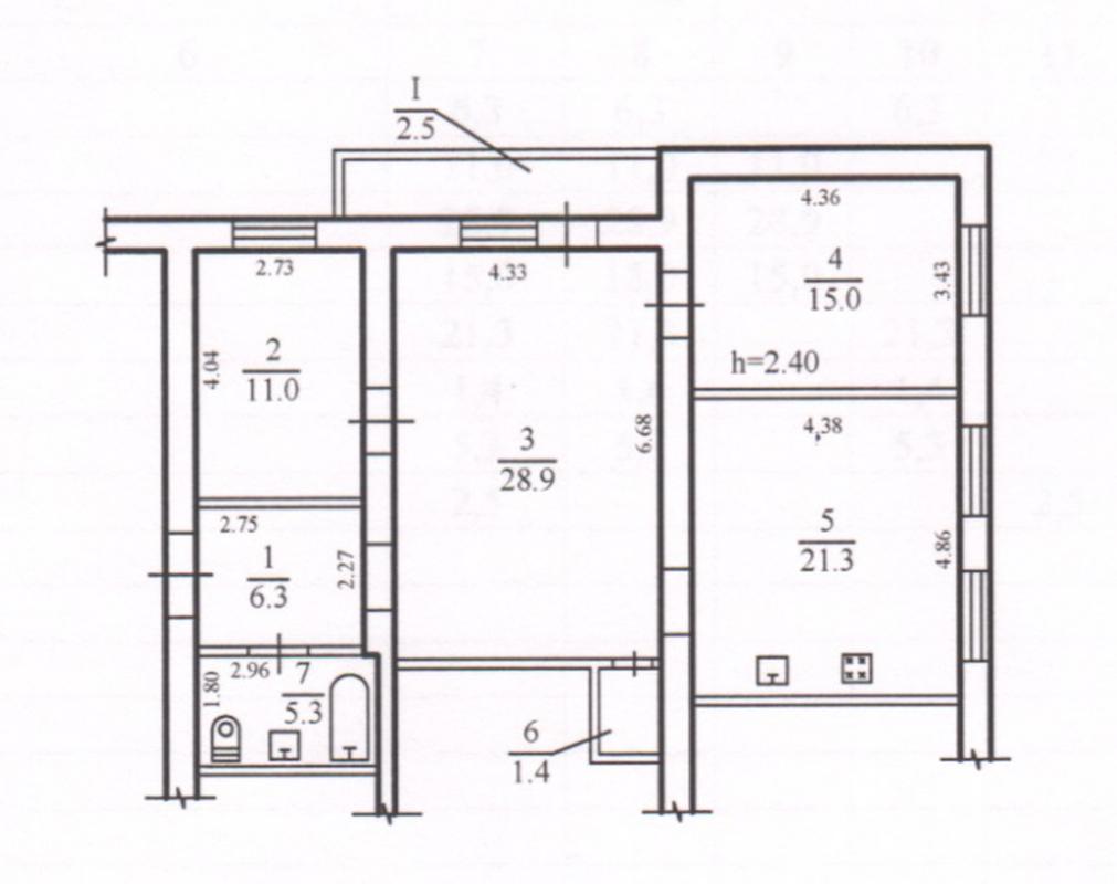 продам 3-комнатную квартиру Днепр, ул.Новоселовская - Фото 12