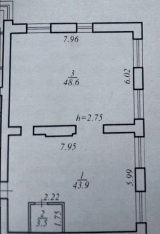 продам 3-комнатную квартиру Днепр, ул.Луговская - Фото 1