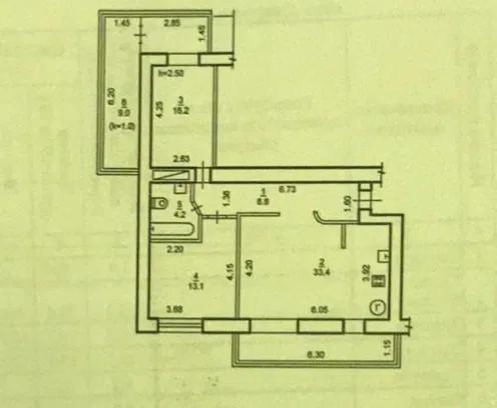 продам 3-комнатную квартиру Днепр, ул.Прогрессивная , 7 - Фото 12