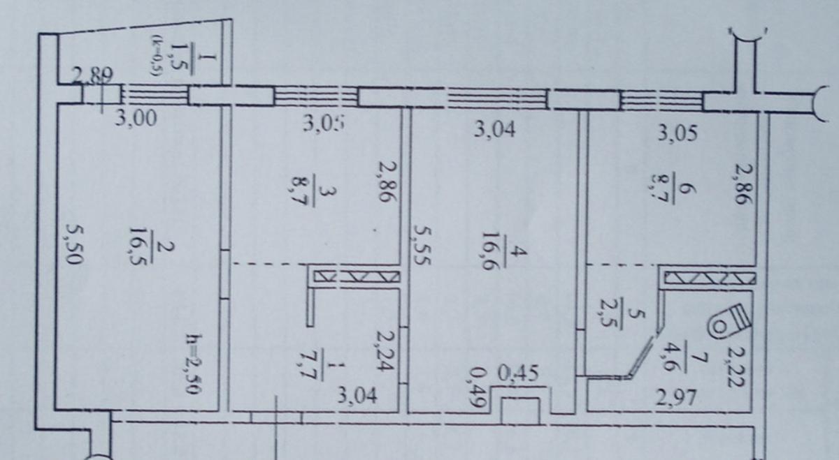 продам 3-комнатную квартиру Днепр, ул.Малиновского Маршала , 60 - Фото 10