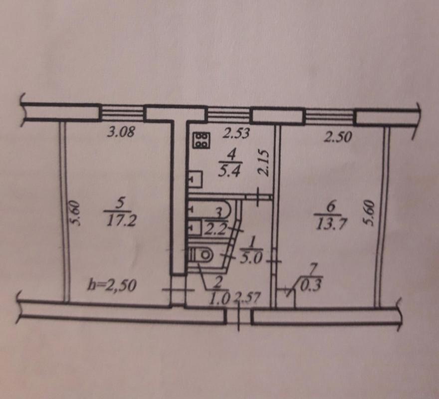 продам 2-комнатную квартиру Днепр, ул.Котляревского , 2 - Фото 9